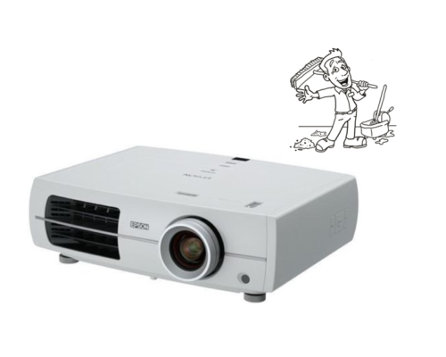LCD, DLP und LED Beamer Reinigung - Reinigen - Entfernung von Staub und Schmutz.
