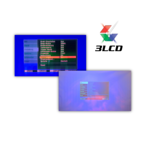 Beamer Reparatur Polarisationsfilter Polfilter - Verfärbungen und unscharfes Bild (Optical Engine)