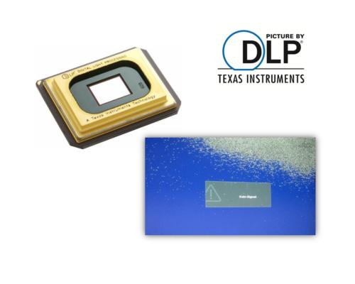 DLP Beamer Reparatur DMD Chip Austausch - Pixelfehlern und Streifen im Bild