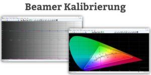 Beamer Kalibrierung - HDTV Rec 709 und D65 Farbkalibrierung