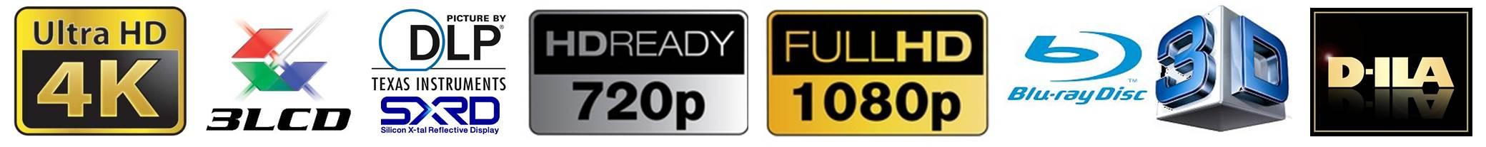 Logo - Kaufberatung Heinkino Beamer 4K, FullHD, HD, 3D, D-ILA, SCRD, LCD und DLP
