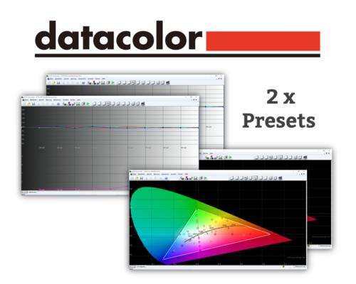 Beamer Kalibrierung - Farbkalibrierung zwei Preset mit Datacolor