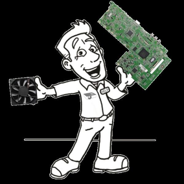 Beamer Ersatzteile - Günstige Ersatzteile, wie Lüfter, Mainboards, Netzteile und optische Bauteile für deinen Projektor.