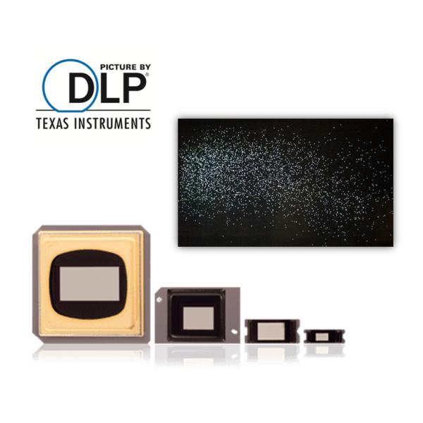 DLP Beamer Reparatur: DMD Chip Austausch bei Pixelfehlern und Streifen im Bild.